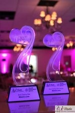 Award Trophies at the 2010 Miami iDate Awards Ceremony
