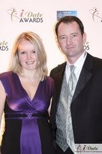 Mark and Irena Brooks at the 2010 iDateAwards in Miami