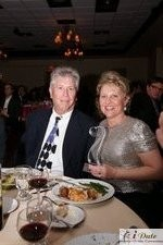Mr. and Mrs. Ferman with the Best Matchmaker Award in Miami at the 2010 Internet Dating Industry Awards