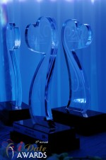 iDate Award Trophies in Miami Beach at the 2012 Internet Dating Industry Awards