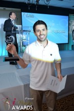 Joel Simkhai - Grindr.com - Winner of Best Mobile Dating App 2012 at the January 24, 2012 Internet Dating Industry Awards Ceremony in Miami