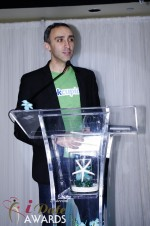 Sam Yagan - OKCupid - Winner of Most Innovativee Company 2012 in Miami Beach at the January 24, 2012 Internet Dating Industry Awards