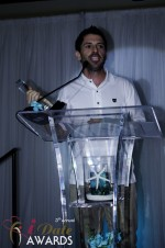 Joel Simkhai - Grindr.com - Winner of Best Mobile Dating App 2012 at the 2012 iDateAwards Ceremony in Miami