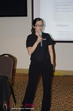 Erin Garcia - VP CrushAds at the 2012 Miami Digital Dating Conference and Internet Dating Industry Event