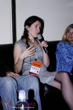 iDate2012 Dating Industry Final Panel - Tanya Fathers at Miami iDate2012