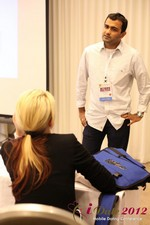 Dwipal Desai (CEO of TheIceBreak.com) covers monetization during a relationship at the 2012 Los Angeles Mobile Dating Summit and Convention