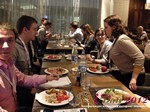 Lunch at the 2012 Russia Internet Dating Industry Conference in Russia