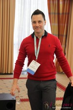 Ademar de Farias Jr (CEO of Bi2Bi) at the 2013 E.U. Online Dating Industry Conference in Köln