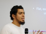 Miguel Espinoza (Developer @ PHPFox) at the 2013 Köln E.U. Mobile and Internet Dating Summit and Convention