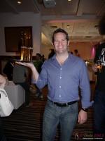 Michael serves drinks! at the 35th iDate2013 Köln convention