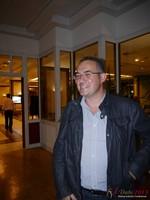 Nick Tsinonis (Scamalytics - Sponsor) at iDate2013 Köln