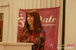 Julie Spira - CEO of CyberDatingExpert.com at the June 5-7, 2013 Beverly Hills Online and Mobile Dating Business Conference