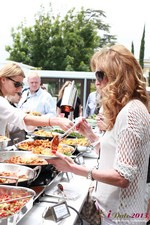 Lunch at the June 5-7, 2013 Mobile Dating Business Conference in Beverly Hills
