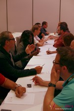 Speed Networking at the 2013 Beverly Hills Mobile Dating Summit and Convention