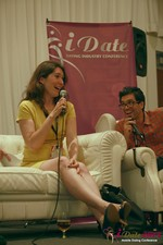 Tanya Fathers - on the Final Panel at the 2013 Internet and Mobile Dating Business Conference in Beverly Hills