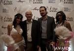 Harry Van Der Nol and Will Alan  Bush in Las Vegas at the January 17, 2013 Internet Dating Industry Awards