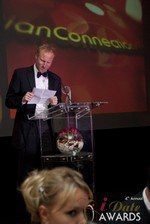 Dan Winchester reading on behalf of ChristianConnection.co.uk, winner of Best Niche Dating Site in Las Vegas at the January 17, 2013 Internet Dating Industry Awards