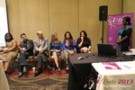 Charreah Jackson (Essence Magazine) hosts the 1st Annual Matchmakers Debate at the 2013 Internet Dating Super Conference in Las Vegas