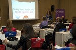 Carmelia Ray, host of the Date Coaching Track at Las Vegas iDate2013