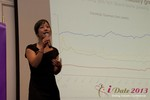 Charisma Levonleigh  (Google) at the January 16-19, 2013 Internet Dating Super Conference in Las Vegas