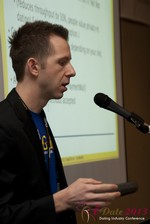 Dave Sanguinetti (CEO of Real-Gifts) at Las Vegas iDate2013