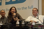 Tanya Fathers (CEO of DatingFactory) at the January 16-19, 2013 Las Vegas Internet Dating Super Conference