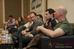 Sam Moorcroft (CEO of Christian Cafe) at the Final Panel at the 10th Annual iDate Super Conference