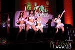 Las Vegas showgirls begin the festivities at the January 17, 2013 Internet Dating Industry Awards Ceremony in Las Vegas