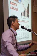 Kevin Feng (Super Affiliate at MoxyMedia) at the 33rd International Dating Industry Convention
