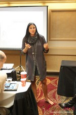 Marni Battista (CEO of Dating with Dignity) at the January 16-19, 2013 Las Vegas Online Dating Industry Super Conference