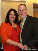 Orna & Matthew Walters at the January 16-19, 2013 Internet Dating Super Conference in Las Vegas