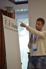 Ashley Christie, CEO of theMobileHub  at the 2014 European Union Internet Dating Industry Conference in Cologne