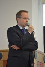 Dieter Plassman, CTO at Net-M  at the 39th iDate2014 Cologne convention