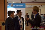 Exhibit Hall, Neteller Sponsor  at the 2014 Cologne European Union Mobile and Internet Dating Expo and Convention
