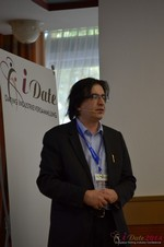 Francesco Nuzzolo, France Manager for Dating Factory  at the September 8-9, 2014 Cologne European Union Internet and Mobile Dating Industry Conference