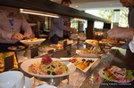 Lunch  at the 11th Annual European Union iDate Mobile Dating Business Executive Convention and Trade Show