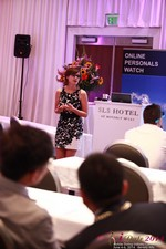Jessica Carbino, Sociologist at UCLA Presentation On Single Mothers And Mobile Dating Demographics  at the 38th Mobile Dating Industry Conference in Beverly Hills