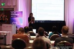 Rosalie Sutherland, Director Of Mobile Marketing at AnastasiaDate Discussing Mobile Dating Conversions  at the 38th iDate2014 Beverly Hills