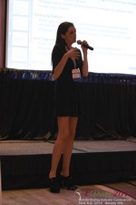 Rosalie Sutherland Of AnastasiaDate Speaking On Mobile Dating Conversions  at the June 4-6, 2014 Mobile Dating Industry Conference in Beverly Hills