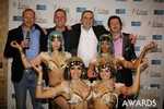 The Crew from Britian  at the January 15, 2014 Internet Dating Industry Awards Ceremony in Las Vegas