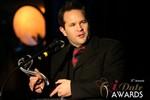Michael O'Sullivan (Winner of Best Dating Software & SAAS) at the 2014 iDateAwards Ceremony in Las Vegas held in Las Vegas