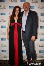 Tatyana Seredyuk & Sean Kelley  at the 2014 Las Vegas iDate Awards