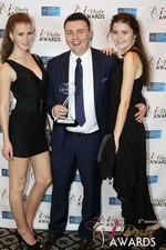 Maciej Koper of World Dating Company (Winner of Best New Technology) at the 2014 Internet Dating Industry Awards in Las Vegas