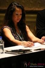 Carmelia Ray at iDate2014 Las Vegas
