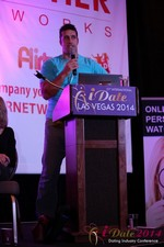 Nick Bicanic - Co-Founder @ IDCA at the 2014 Internet Dating Super Conference in Las Vegas
