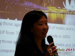 Violet Lim - CEO of Lunch Actually at the 2015 Asia and China Online Dating Industry Conference in Beijing