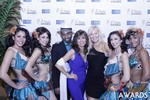 Renee Piane and Kristina Lynn in Las Vegas at the 2015 Online Dating Industry Awards