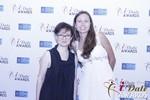 Irena Stepanova and Elena Kolyasnikova at the 2015 Internet Dating Industry Awards in Las Vegas