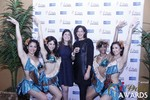 Media Wall with Awards Dancers in Las Vegas at the January 15, 2015 Internet Dating Industry Awards