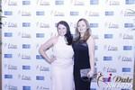 Genevieve Zawada and Sarah Ryan in Las Vegas at the January 15, 2015 Internet Dating Industry Awards